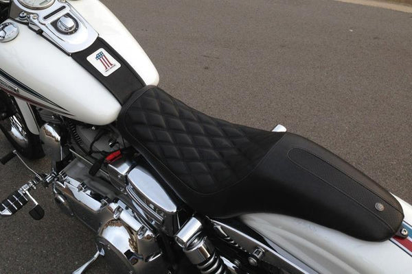 Roland Sands Design Boss 2-Up Seat for Harley Davidson 2006-15 Dyna models