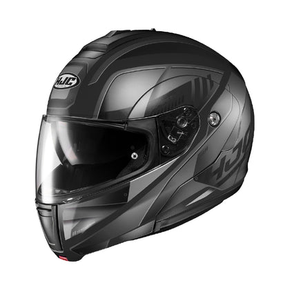 HJC CL-MAX 3 Gallant MC5SF Black and Grey Modular Helmet - HJC Modular Helmets