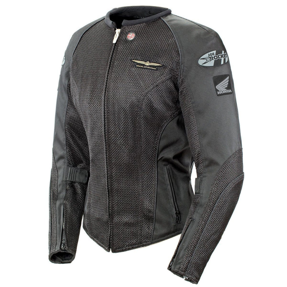 Joe Rocket 'Skyline 2.0' Womens Black Mesh Motorcycle Jacket