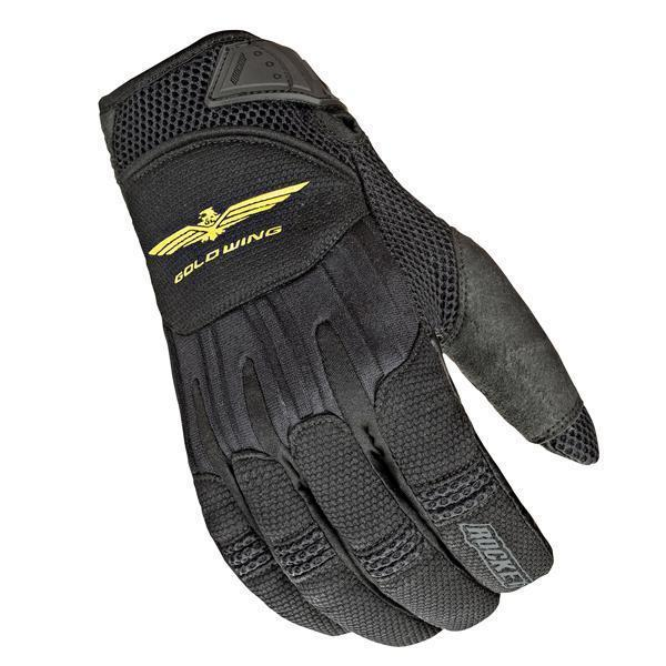 Joe Rocket 'Skyline' Womens Black Mesh/Textile Motorcycle Gloves
