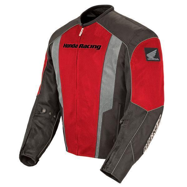 Joe Rocket 'CBR' Mens Red and Black Mesh Motorcycle Jacket - N/A