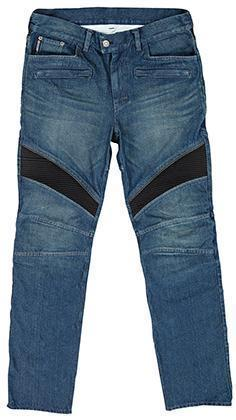 Joe Rocket 'Accelerator Jean' Mens Blue Denim Motorcycle Pants