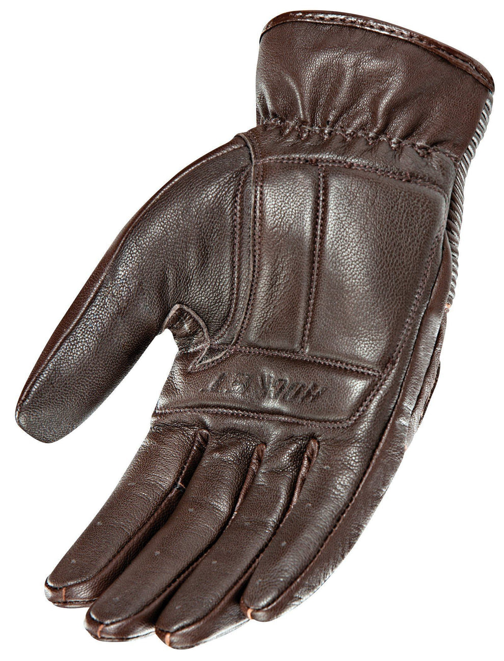 Joe Rocket Cafe Racer Men's Brown Leather Gloves