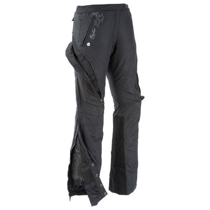 Joe Rocket 'Alter Ego' Womens Armored/Padded Black Textile Motorcycle Pants - N/A