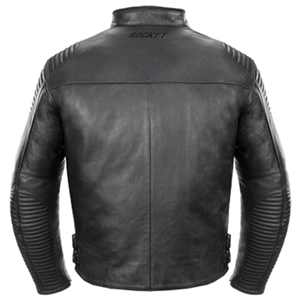 Joe Rocket Men's Sprint TT Black Leather Jacket - Joe Rocket Mens Leather Jackets