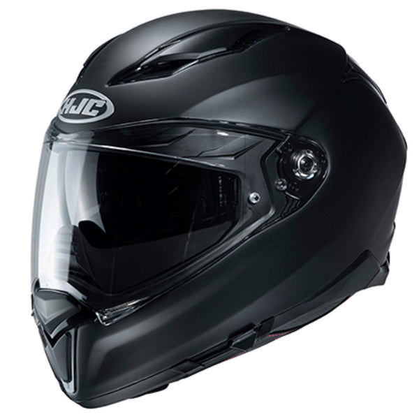 HJC F70 Semi-Flat Black Full Face Helmet - HJC Full Face Helmets