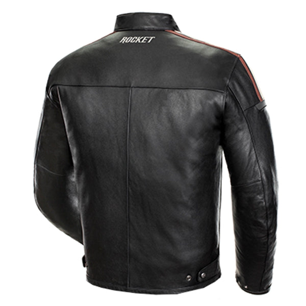 Joe Rocket Men's Dakota Leather Black Jacket