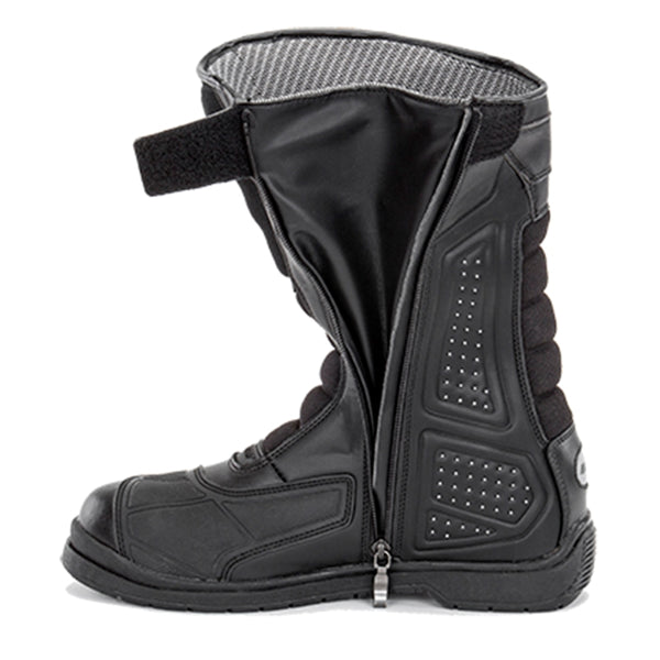 Joe Rocket Men's Black Sonic X Leather Riding Boots - Joe Rocket Mens Boots