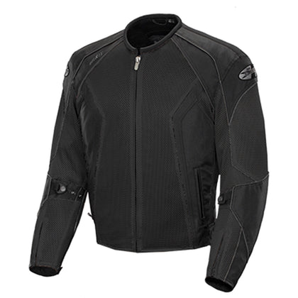 Joe Rocket Men's Phoenix 6.0 Black Mesh Armor Jacket - Joe Rocket Mens Textile Jackets