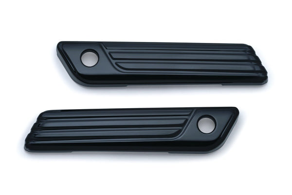 Kuryakyn Tri-Line Saddlebag Hinge Covers for Harley Davidson 2014-16 Electra Gl - N/A