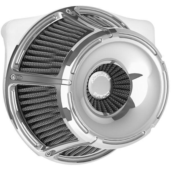 Arlen Ness Inverted Series Slot Track Air Cleaner Kit for Harley Davidson 1988-2013 Sportster models - N/A