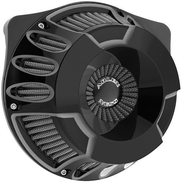 Arlen Ness Inverted Series Deep Cut Air Cleaner Kit for Harley Davidson 2008-13 FLH, FLT models - N/A