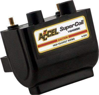 Accel 4.7 Ohm Points Type Dual Fire Super Coil for Harley Davidson 1965-79 All models - N/A