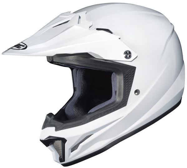 HJC CL-XY 2 Youth White Motocross Helmet - N/A