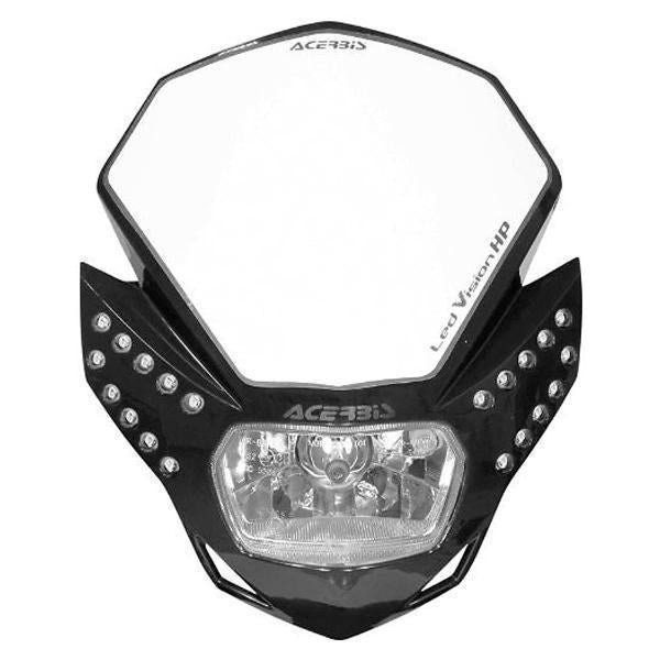 Acerbis L.E.D. Vision HP Black Headlight