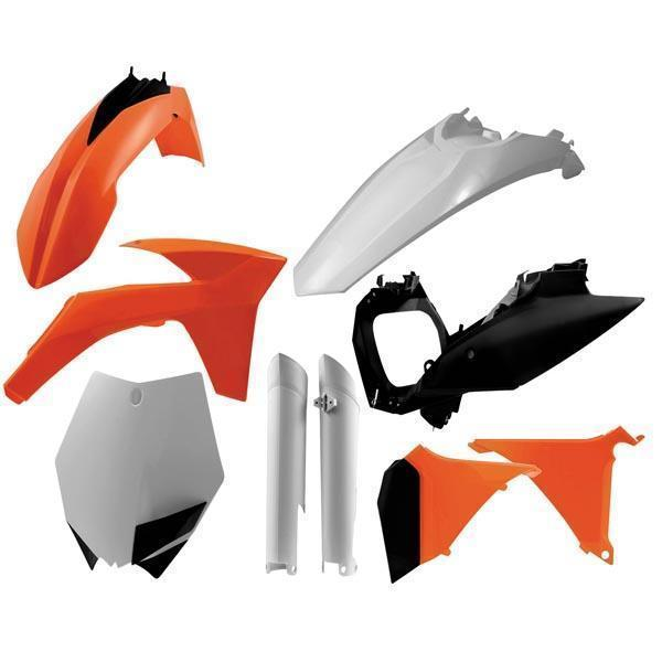 Acerbis Original 11 Plastic Kits for 2011-2012 KTM SX, XC - N/A