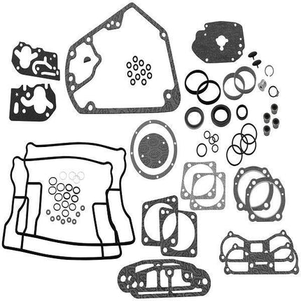S&S Complete Engine Rebuild Gasket Kit (V-Series engine, 4 in. bore) for Harley Davidson 1984-99 Big Twin Models