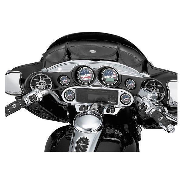 Kuryakyn Stereo Accent for Harley Davidson 1996-2013 Electra Glide, Street Glid