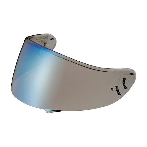 Shoei 'RF1200 CWR-1' Spectra Blue Shield with Pinlock Pins