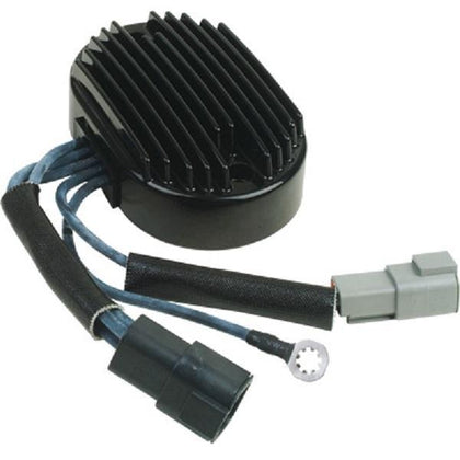 HardDrive Black Regulator for Harley Davidson 2007 Softail models