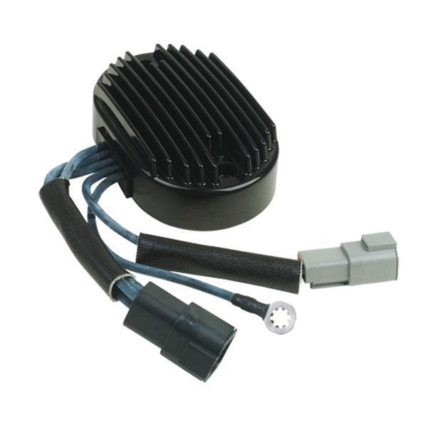 HardDrive Black Regulator for Harley Davidson 2000 Softail models