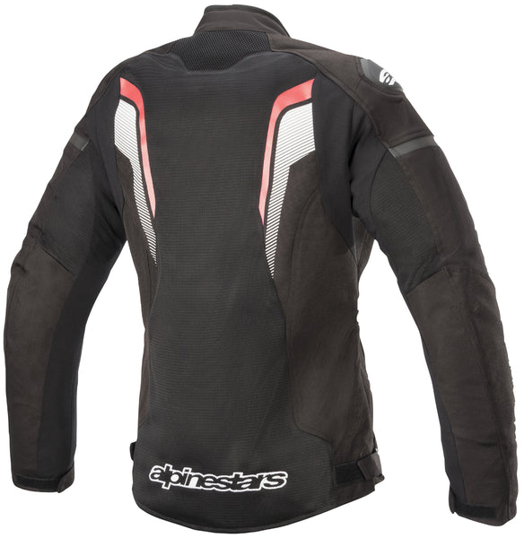 Alpinestars Women's Stella T-GP Plus R v3 Airflow Black, and Fluorescent Red Textile Jacket - Alpinestars Jackets