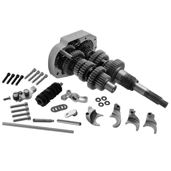 Baker 6-Speed 3.24 Close Ratio Overdrive Builders Kit for Harley Davidson 2000-06 Softail, 2001-05 Dyna models