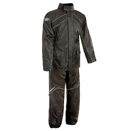 Joe Rocket 'RS-2' Mens Black Rain Suit - N/A
