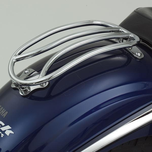 Show Chrome Tubular Solo Luggage Rack for 2007-2008 Yamaha XVS1300/XVS1300A