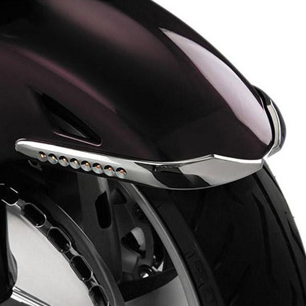 Show Chrome L.E.D. Front Fender Accent for 2001-2010 Honda GL1800