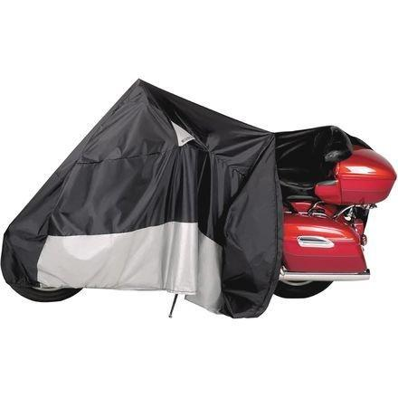 Dowco Guardian WeatherAll Plus EZ Zip 3X-Large Motorcycle Cover - Black / 3X-Large