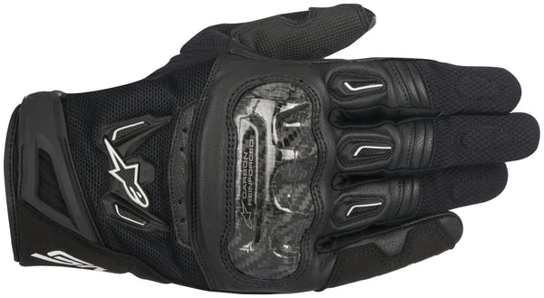 Alpinestars Men's SMX-2 Air Carbon v2 Black Gloves - Alpinestars Gloves