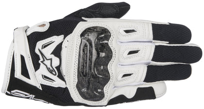 Alpinestars Women's Stella SMX-2 Air Carbon v2 Black and White Gloves