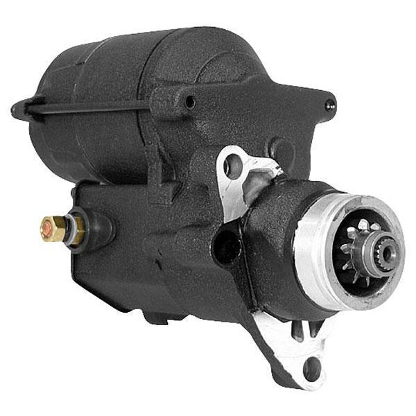 Twin Power 1.4kW Black Starter Motor for Harley Davidson 2007-13 Big Twin