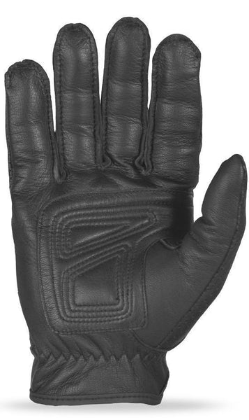 Fly Racing 'Rumble' Thin Black Leather Gloves - N/A