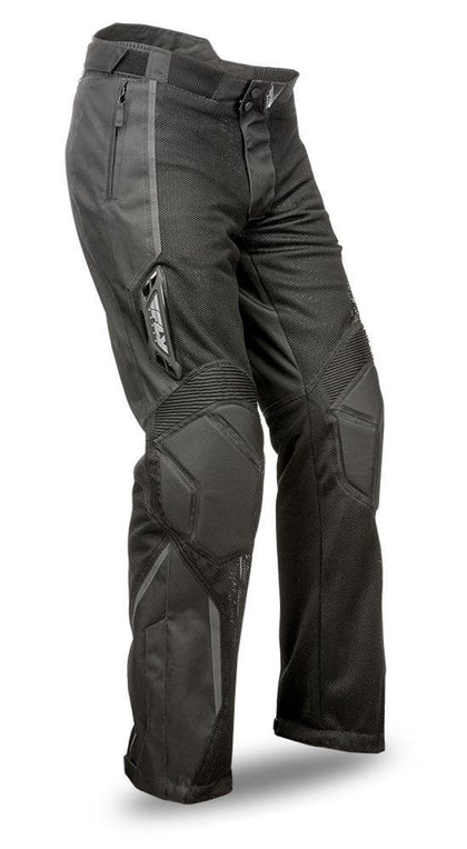 Fly Racing Coolpro II Men's Black Mesh Pants - N/A