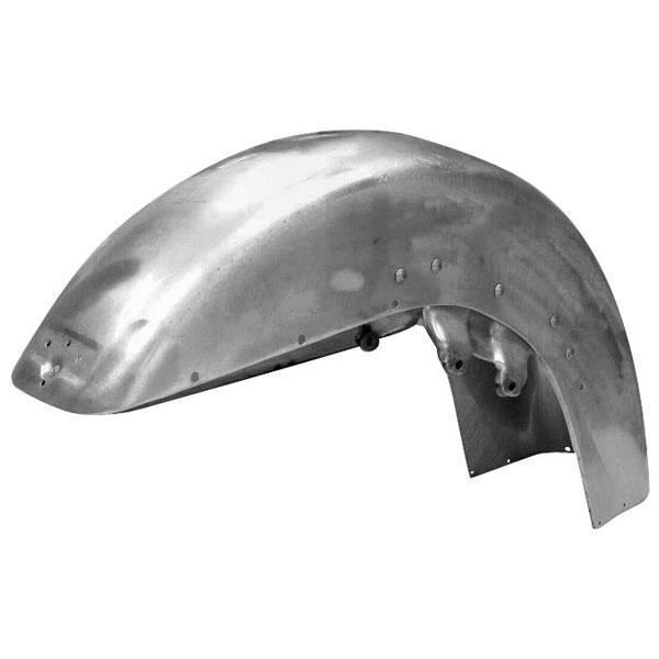Bikers Choice Custom Front Fender without Holes for Harley Davidson 1987-2013 FL Touring Models - N/A