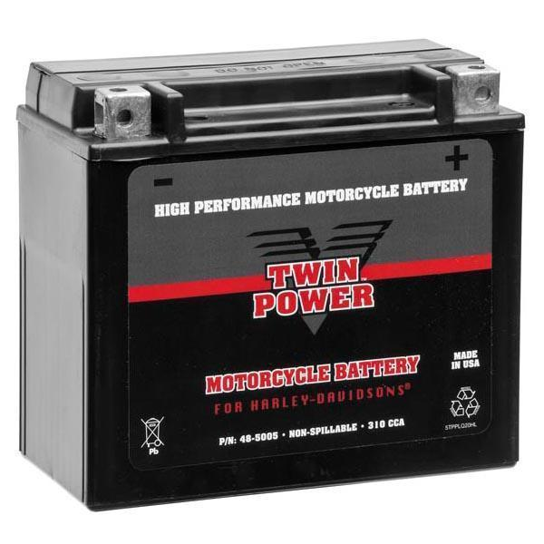Twin Power High Performance/Premium Factory Activated AGM YTX14L-BS Batteries for 2004-2013 XL