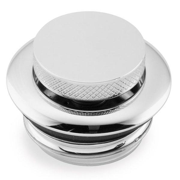 Bikers Choice Screw-in Type Pop Up Chrome Gas Cap - N/A