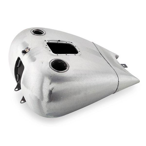 Biker's Choice 2 in. Stretch Gas Tank for Harley Davidson 2001-07 Softail Fuel Injected, 2004-06 Carbureted (exc. FXSTD) - N/A