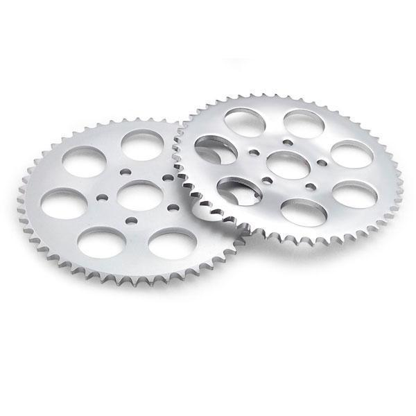 Twin Power 51 Tooth Chrome Plated .150 Offset Rear Sprocket for Harley Davidson 1973-85 Big Twin models