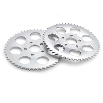 Twin Power 51 Tooth Zinc Plated .150 Offset Rear Sprocket for Harley Davidson 1973-85 Big Twin models