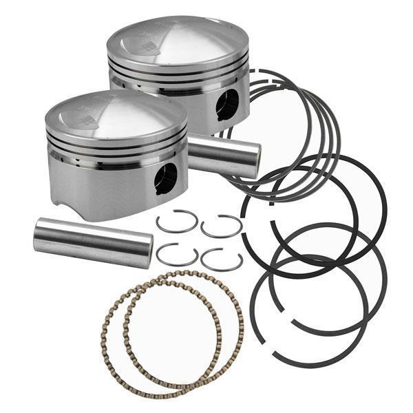 S&S Flathead Power +.030 in. Forged 3-5/8 in. Bore Piston for Harley Davidson 1936-84 OHV Big Twin models