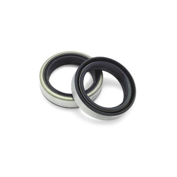 Bikers Choice 10 Pack Replacement Fork Seals for 1980-1984 Harley Davidson FL/FLT/FXWG - N/A