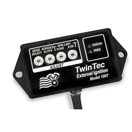 Daytona Twin Tec External 8-Pin Ignition Module Model 1007 for Harley Davidson 1995-98 Big Twin, 1994-97 Sportster models