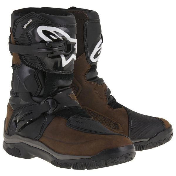 Alpinestars Belize Drystar Men's Brown Motorcycle Boots - N/A