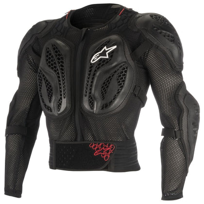 Alpinestars Bionic Action Youth Black/Red Protective Motocross Jacket - N/A