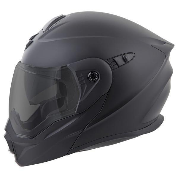 Scorpion EXO-AT950 Matte Black Snow Helmet with Dual Pane Lens - N/A