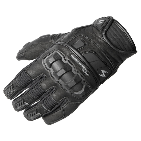 Scorpion Klaw II Black Leather Gloves - N/A