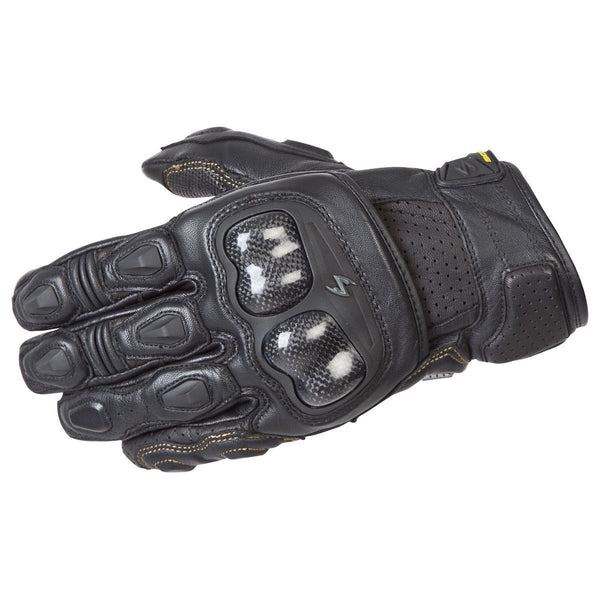 Scorpion SGS MKII Black Leather Gloves - N/A